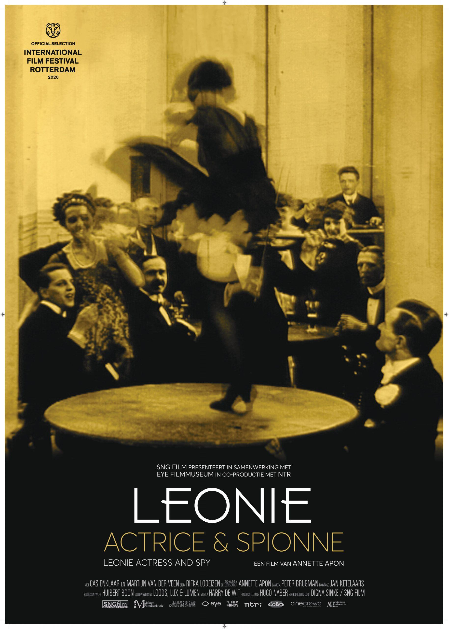 Leonie actrice en spionne